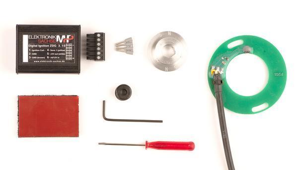 Digital Ignition ZDG 3 10, for Honda CB125K, CB125J, CB125S, CB125/175/200  Twin